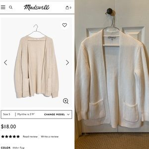 Madewell | Redford Cardigan Sweater
